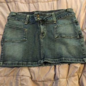 Pre-owned Rampage Jeans mini skirt, size 11